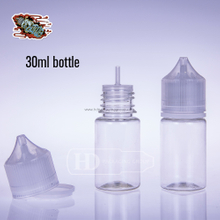 30ml Dropper Bottle Clear Unicorn Eliquid Bottle Transparent Cap